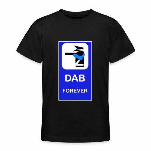 DAB POLICE BLUE - Maglietta per ragazzi