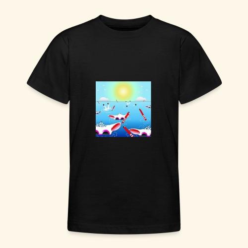SHEEPLAKECOMIC - Teenager T-Shirt