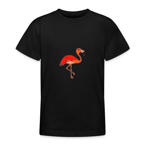 Flamingo - orange-rot - Teenager T-Shirt