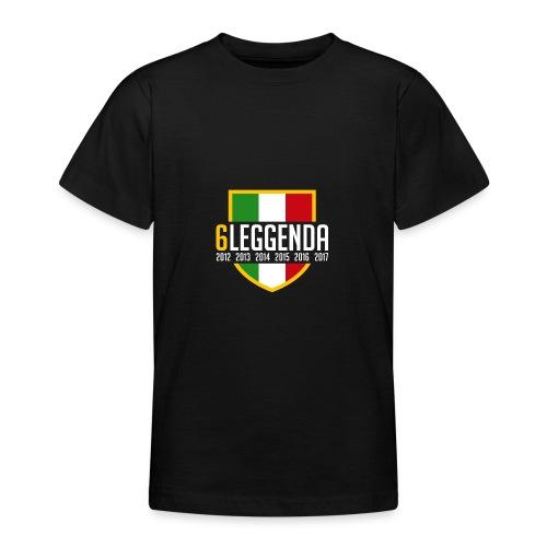 6LEGGENDA BLACK - Maglietta per ragazzi