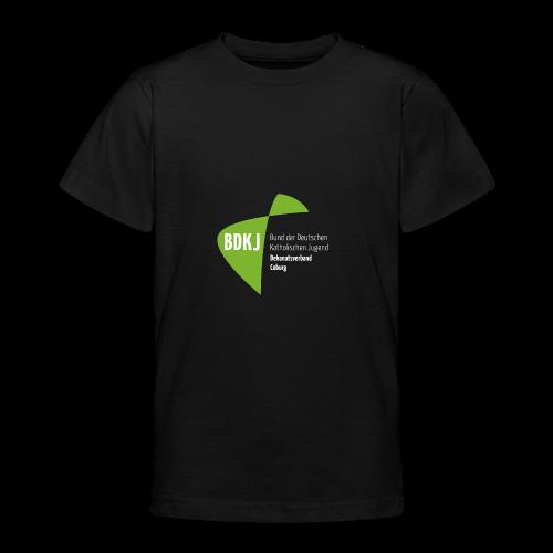BDKJ Logo Transparenz - Teenager T-Shirt