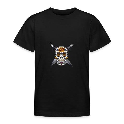 Cross skull swords - T-shirt Ado
