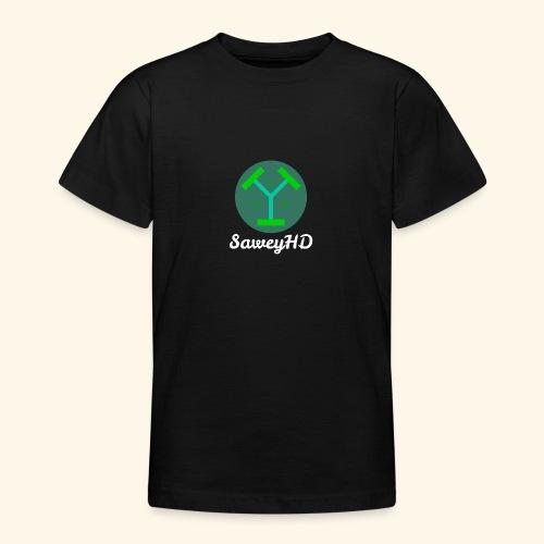 SaweyHD Schwarz - Teenager T-Shirt