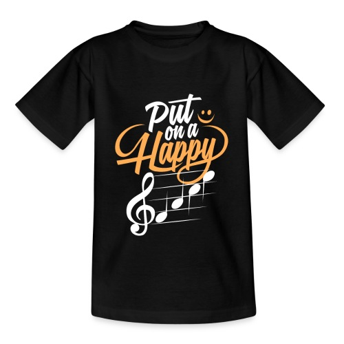 happy face - Teenager T-Shirt