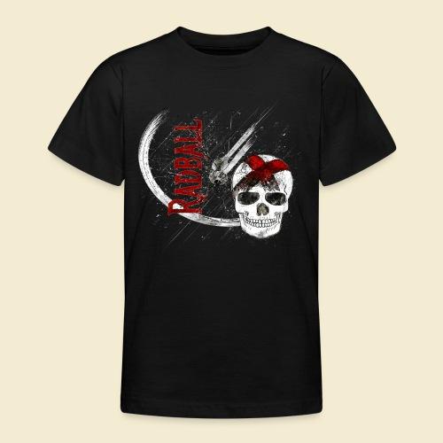 Radball | Cycle Ball Skull - Teenager T-Shirt
