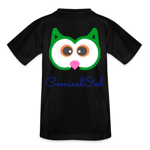 Cartoon Owl - Teenage T-Shirt
