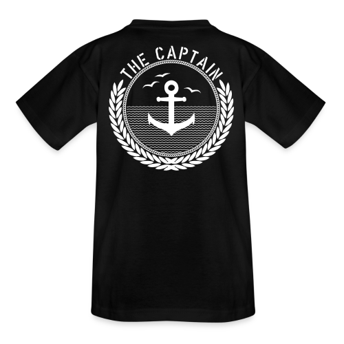 The Captain - Anchor - Teenager T-Shirt
