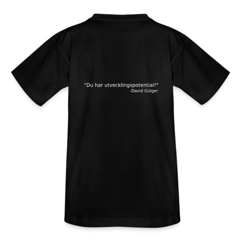 Ju jutsu kai förslag 1 version 1 vit text - T-shirt tonåring