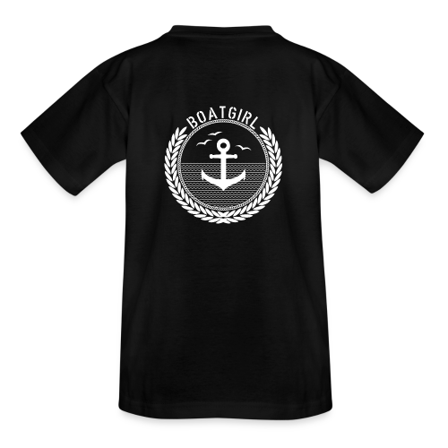BoatGirl - Anchor - Teenager T-Shirt