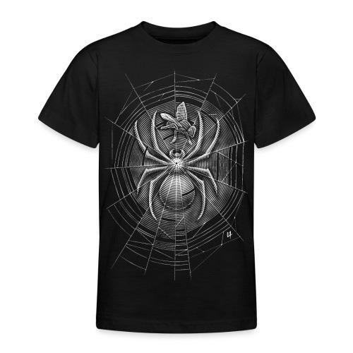 Spider Web - Teenage T-Shirt