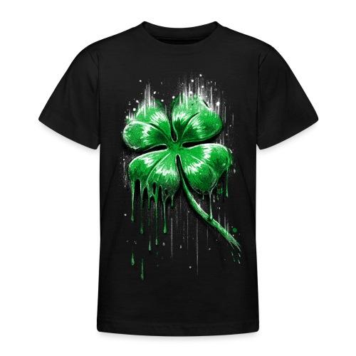 Four Leaf Clover - Teenage T-Shirt