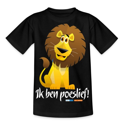 Ik ben poeslief - Teenager T-shirt