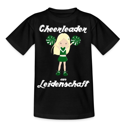 cheerleader aus leidenschaft cheerleading Sport - Teenager T-Shirt