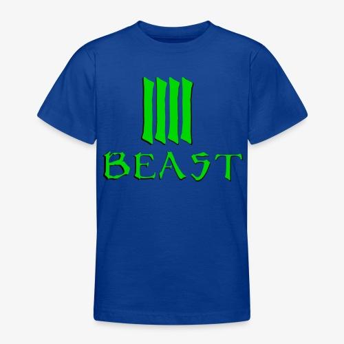 Beast Green - Teenage T-Shirt