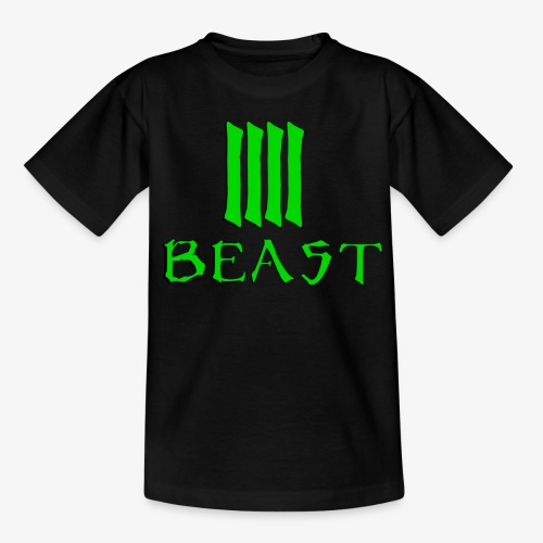 Beast Green - Teenage T-Shirt