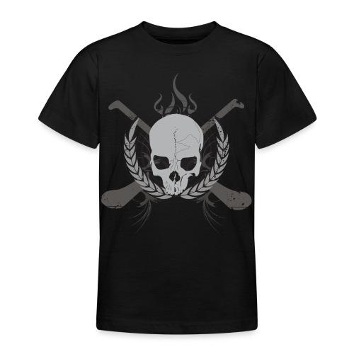 skullgreyblack - Teenage T-Shirt