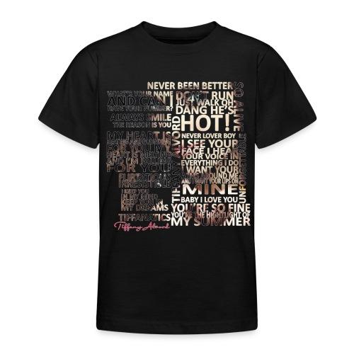 Tiffany Typography - Teenage T-Shirt