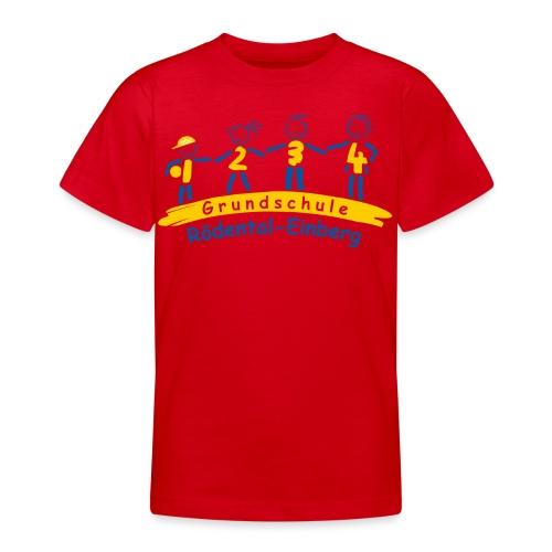 VORNE schule logo Kopie png - Teenager T-Shirt