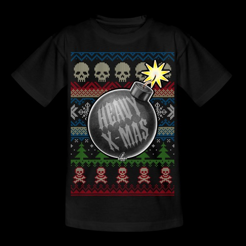 Heavy X-Mas Christbaumkugel-Bombe - Teenager T-Shirt