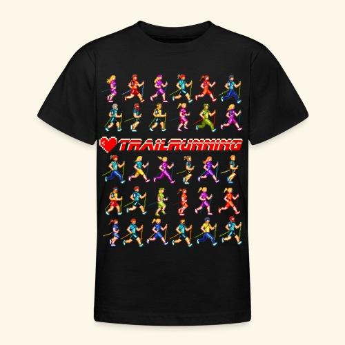 LOVE TRAILRUNNING PIXEL - Maglietta per ragazzi