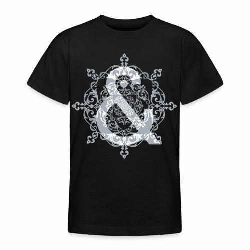 Escudo dark grey & ... - Camiseta adolescente