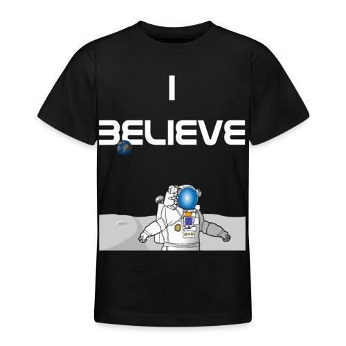 i believe Alien Astronaut Mondlandung - Teenager T-Shirt