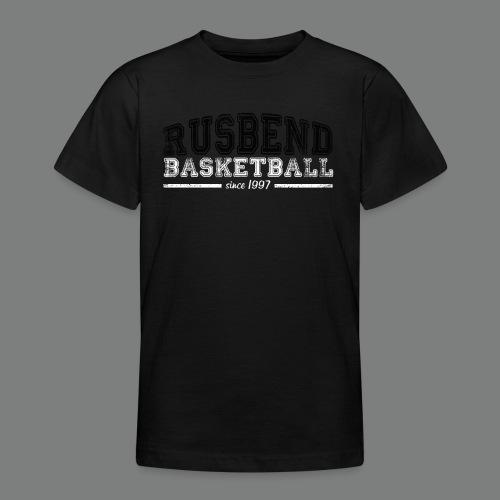 Rusbendbasketballlogo_sch - Teenager T-Shirt