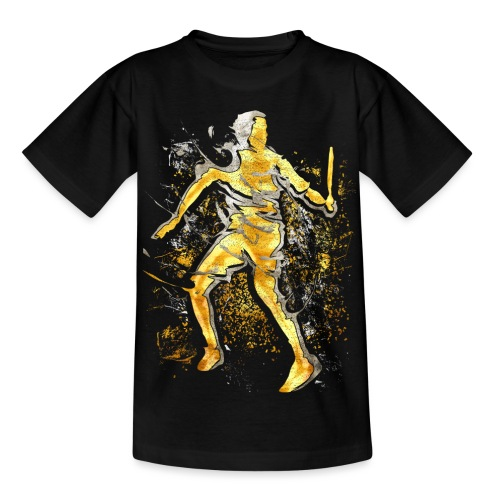 Badminton - Smash - Badminton Spieler - Teenager T-Shirt