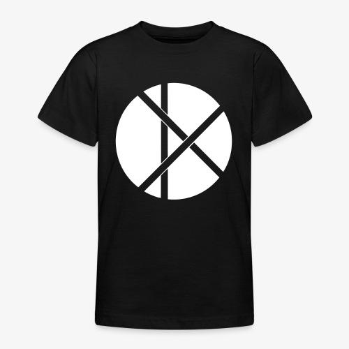 Don Logo - valkoinen - Nuorten t-paita
