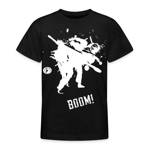 bkc boom on black - Teenage T-Shirt