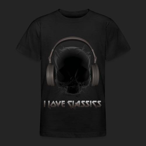 I love classics Black - T-shirt Ado