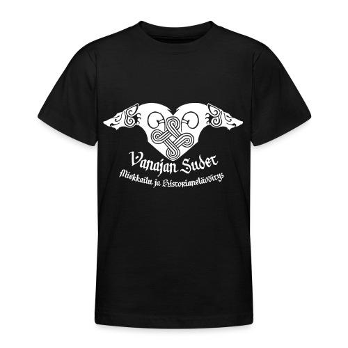 Vanajan Sudet Logo (valkoinen) - Nuorten t-paita