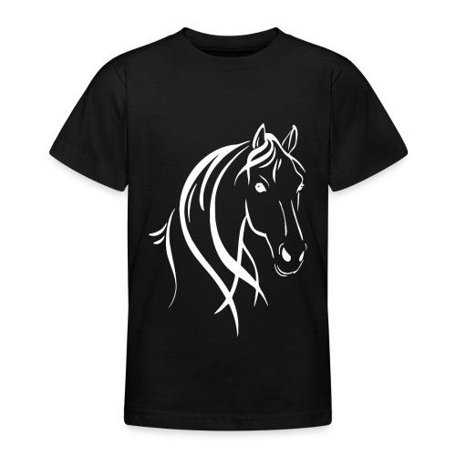 Pferdekopf - Teenager T-Shirt