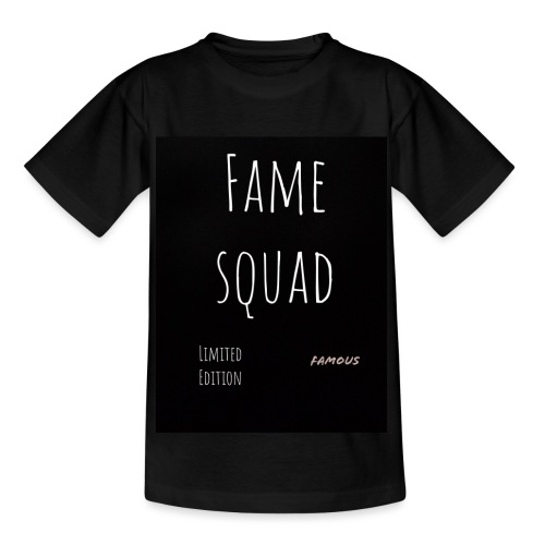 fame squad (alljustwantobefamous) - T-shirt tonåring