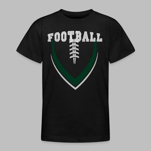 Football LOGO Ball American Football Geschenkidee - Teenager T-Shirt