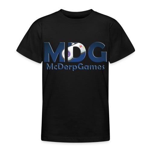 MDG McDerpGames - Teenager T-shirt