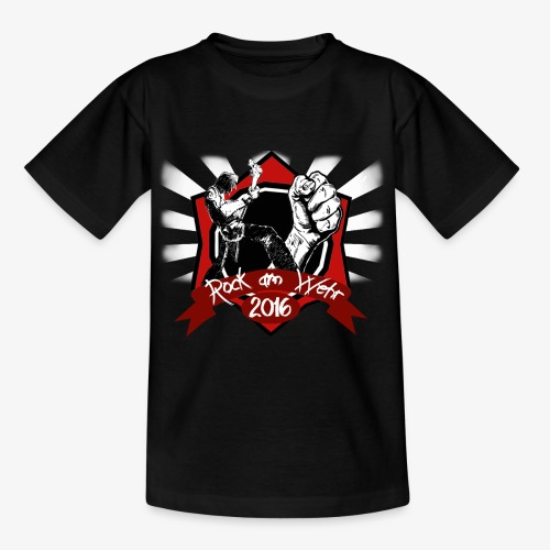 RAW Final Logo Spreadshir - Teenager T-Shirt