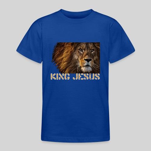 König Jesus der Löwe von Juda - Teenager T-Shirt