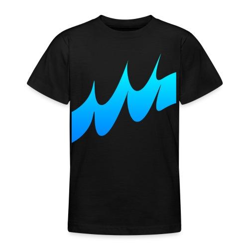 Ocean Waves or just Deep - Teenage T-Shirt