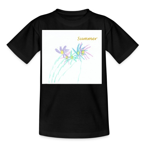 Summer daises - Teenage T-Shirt