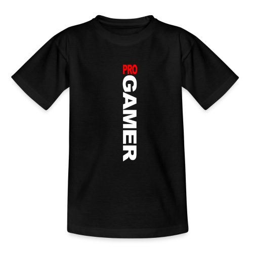 Pro Gamer (weiss) - Teenager T-Shirt
