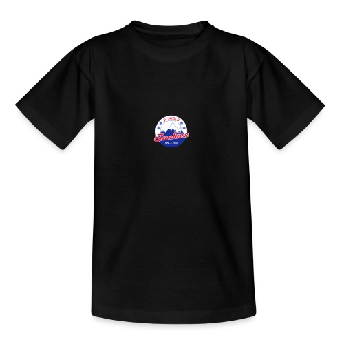 PJ logo pieni - Nuorten t-paita