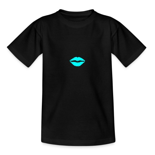 Blue kiss - Teenage T-Shirt