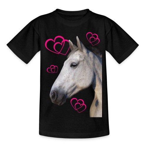 Hästälskare (maya) - T-shirt tonåring