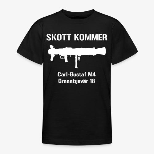 SKOTT KOMMER - KLART BAKÅT - SWE Flag - T-shirt tonåring