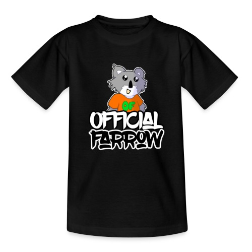 Official Farrow Shirt - Teenage T-Shirt