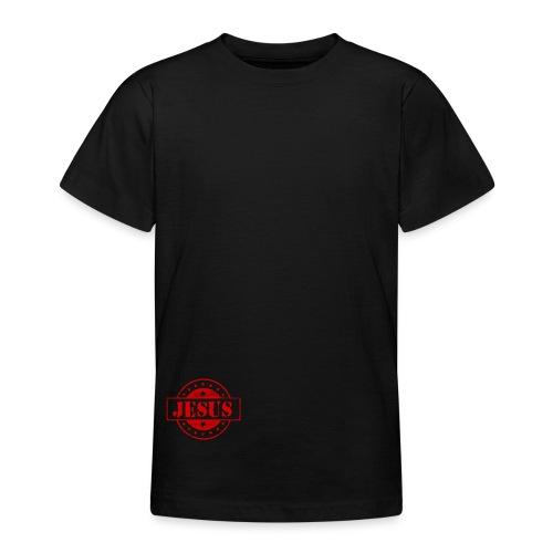 Stempel Jesus - Teenager-T-shirt