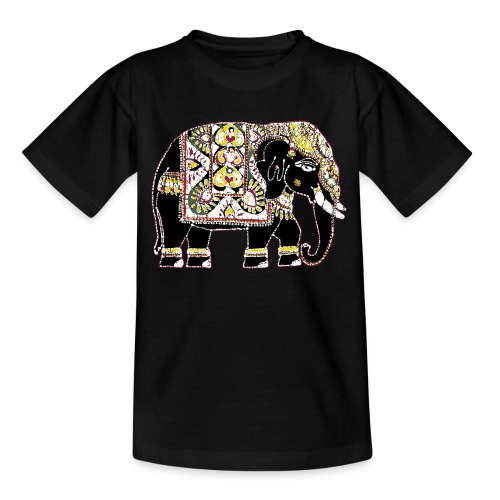 Indian elephant for luck - Teenage T-Shirt