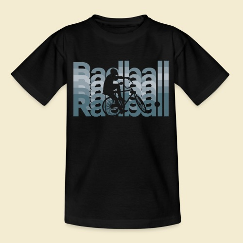Radball | Typo Art - Teenager T-Shirt