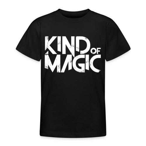 KIND of MAGIC white - Teenager T-Shirt